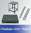 FREEBEAR UNIT, Freebear table