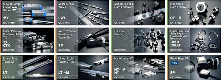 IKO LM guide, IKO Linear Guide, IKO Linear bearing, IKO Rolling Guide, IKO Cam Follower, IKO Ball Screw, Precision LM guide, IKO Bearing