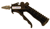 Nylon, Hand Control Air Gun With Adjustable Air Saver Nozzle, 1/4 in. NPTF Air Connection